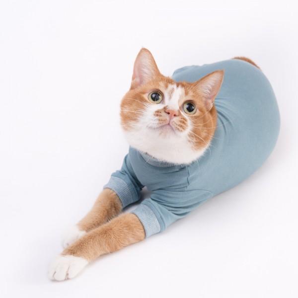 猫に優しい猫服 皮膚保護服キャットプロテクションスーツ