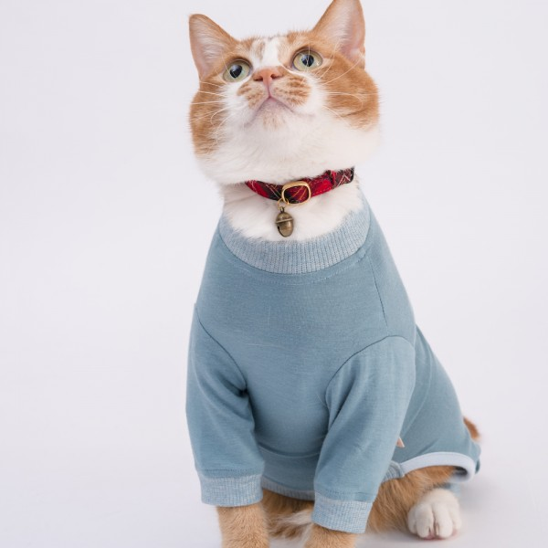 猫に優しい猫服 皮膚保護服 キャットプロテクションスーツ